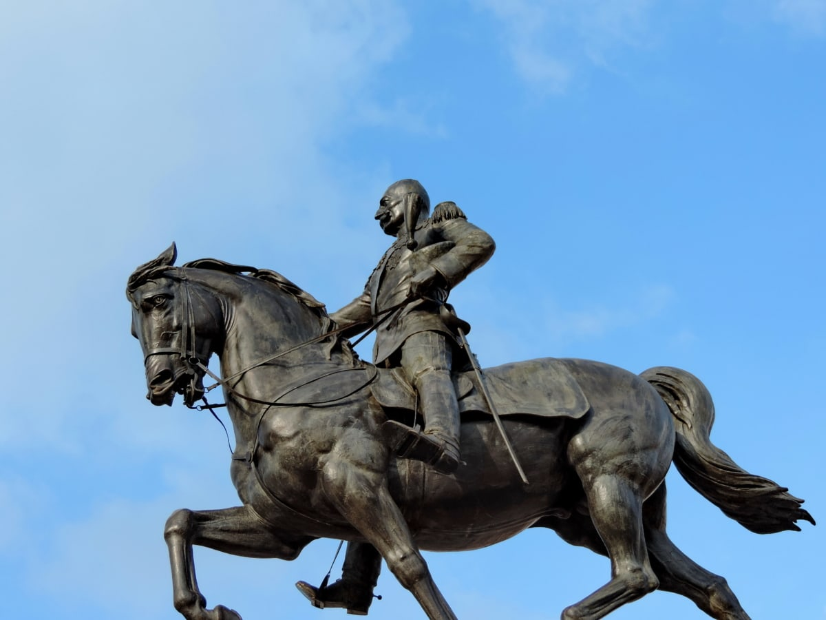König, Skulptur, Serbien, Denkmal, Statue, Kavallerie, Architektur, Kunst