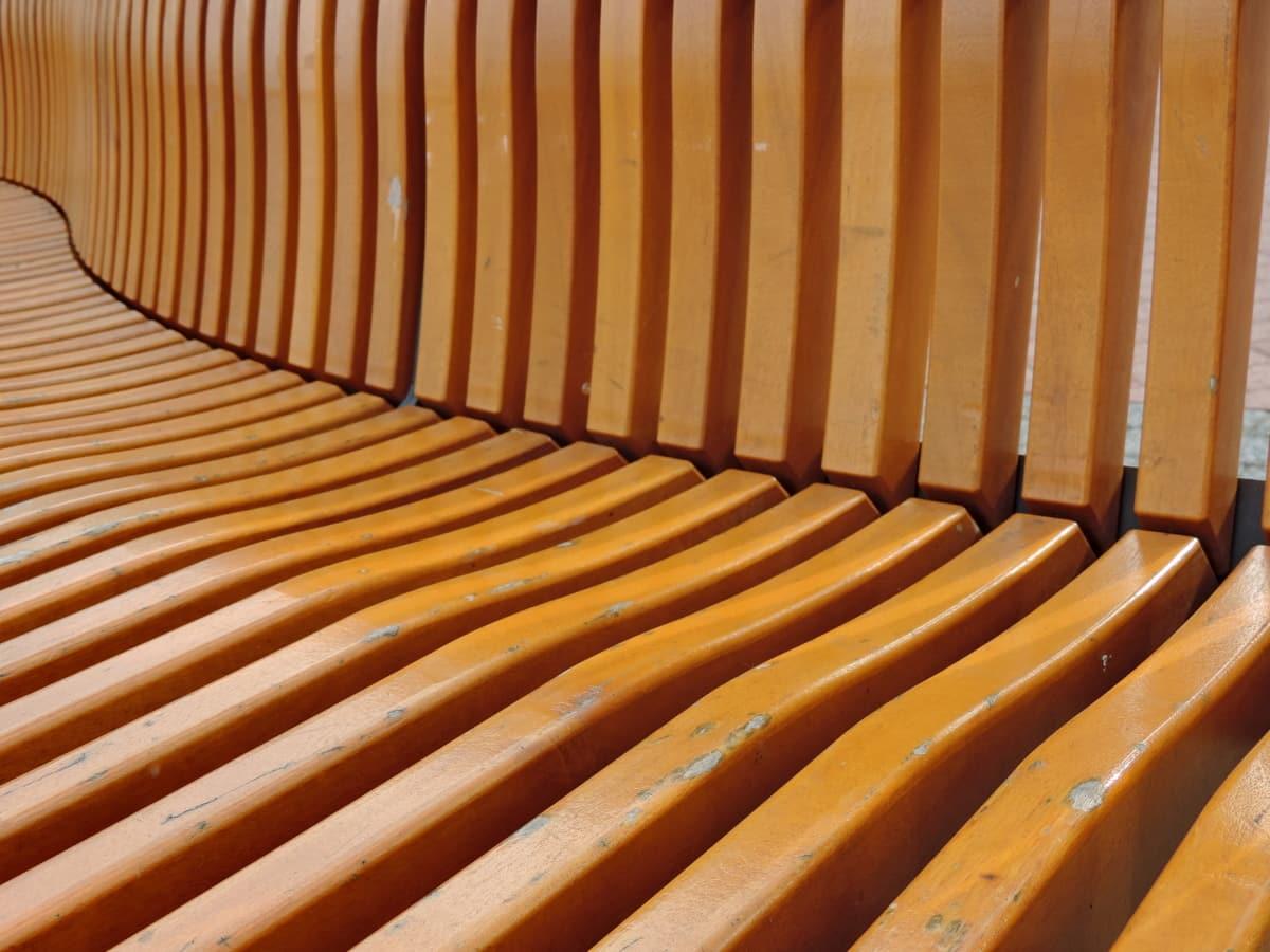 bangku, Mebel, kayu, kosong, kayu, dalam, kursi, tekstur