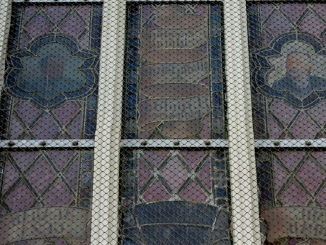 mosaic, window, fence, pattern, texture, design, decoration, art