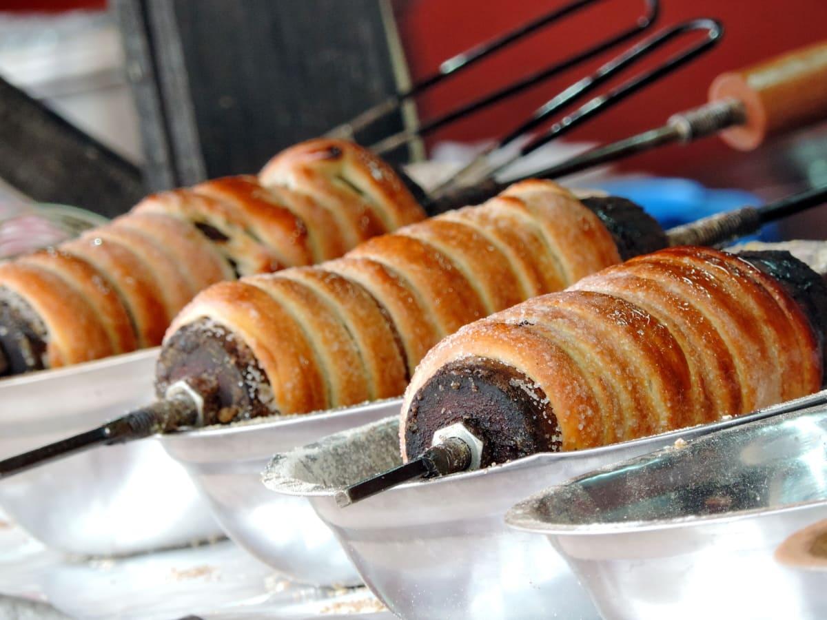 pretzel, pastry, food, breakfast, baked goods, bread, shop, dough