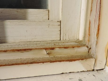 wood, wooden, old, wall, sill, house, door, inside