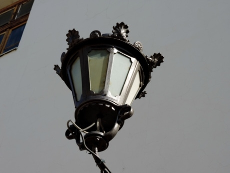 lamp, lantern, outdoors, architecture, daylight, light, city, helicopter