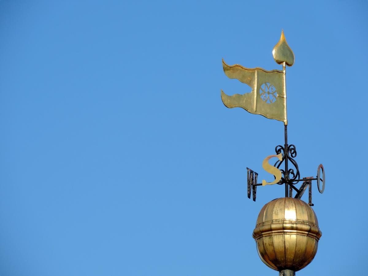 gold, landmark, sign, south, southeast, southwest, architecture, stabilizer