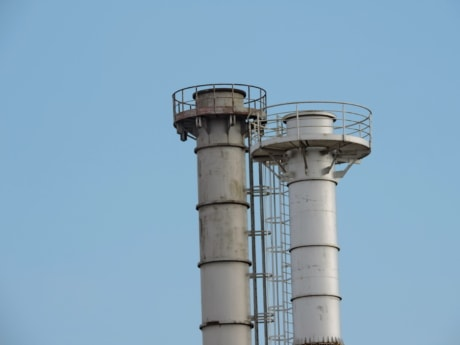 industry, water tower, technology, pipe, pollution, power, tower, production