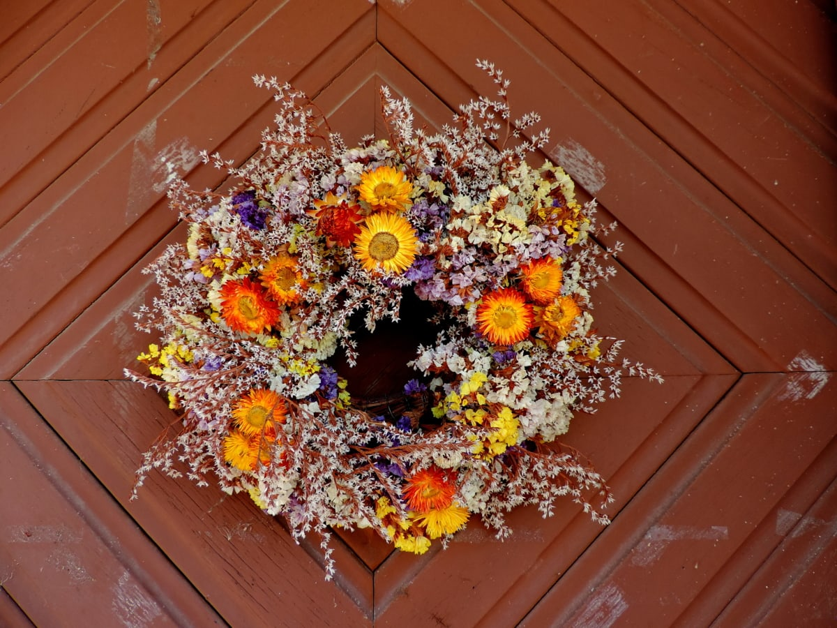 buket, stolarija, šarene, dekoracija, ulazna vrata, cvijet, boja, hrana