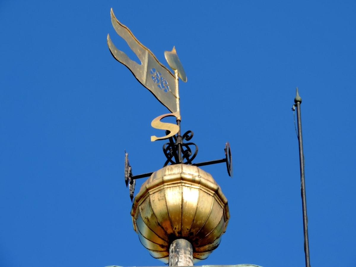 Южна, югоизток, югозапад, архитектура, устройство, стабилизатор, на открито, синьо небе