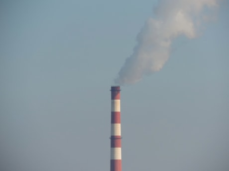 condensation, factory, smoke, heat, pollution, smog, coal, industry