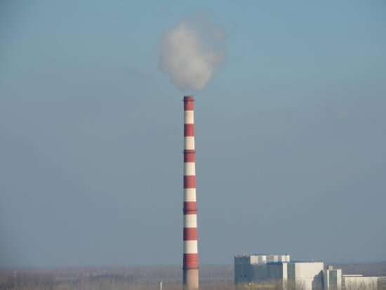 pollution, smog, tower, chimney, factory, outdoors, smoke, daylight