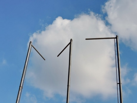 mast, industry, technology, wind, outdoors, daylight, environment, blue sky