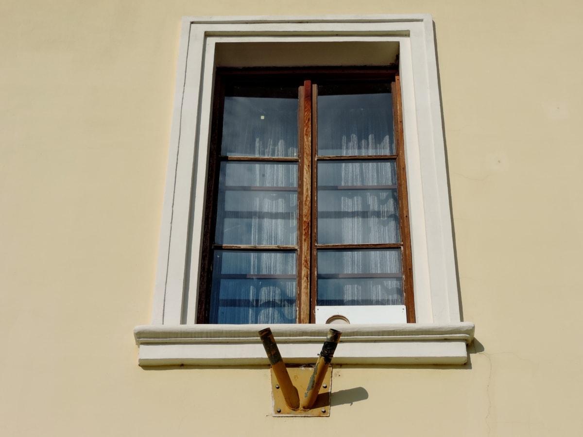къща, Прозорец, архитектура, дървен материал, стена, сграда, закрито, Домашно огнище
