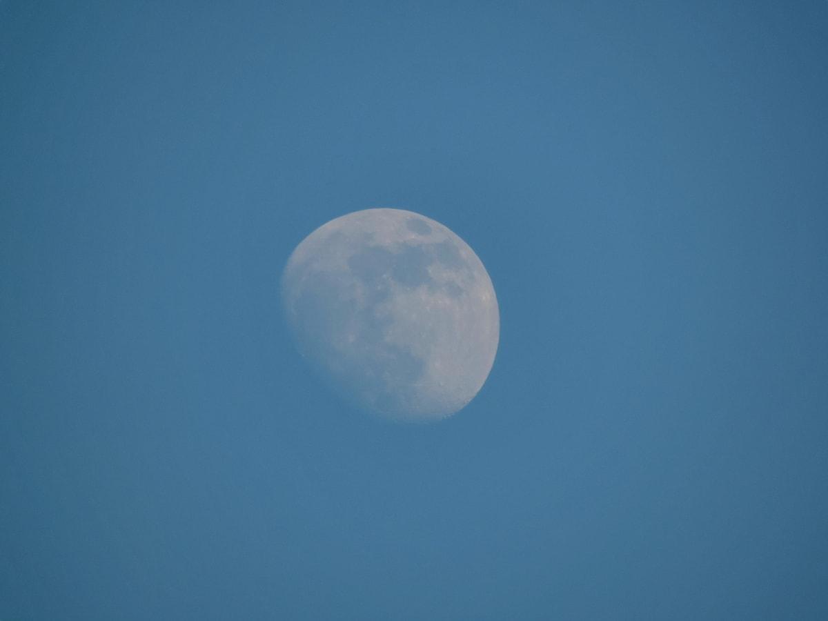luna, prin satelit, aer, natura, astronomie, vreme frumoasă, luna plina, lumina