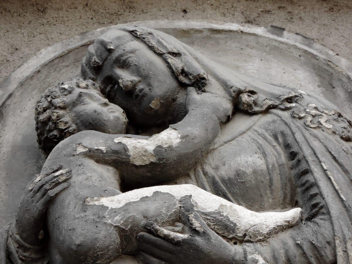 катедрала, католическа, Христос, християнството, статуя, скулптура, изкуство, фонтан