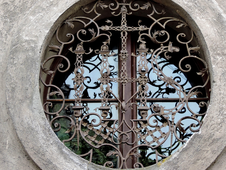 Kostenlose Bild Kunst Barock Aus Gusseisen Fenster Kanaldeckel