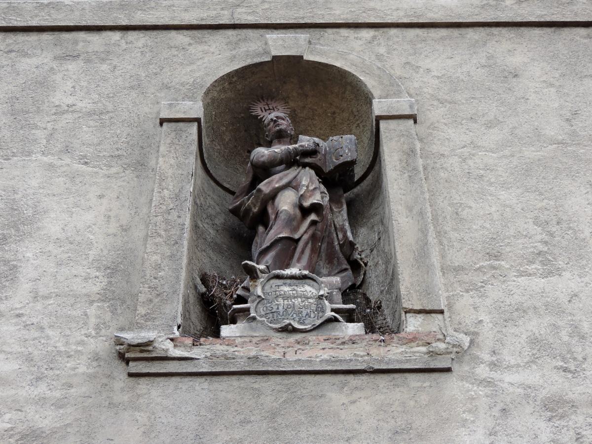 Katedrála, katolické, křesťanství, sochařství, kámen, struktura, architektura, památník