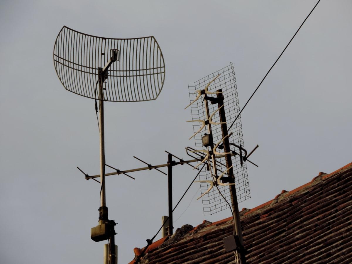 radio antenna, wireless, antenna, electricity, television, power, receiver, technology