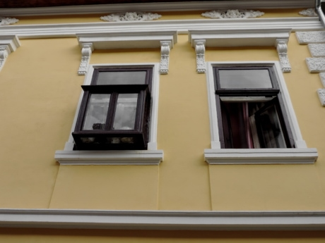 baroque, facade, window, house, architecture, home, building, daylight