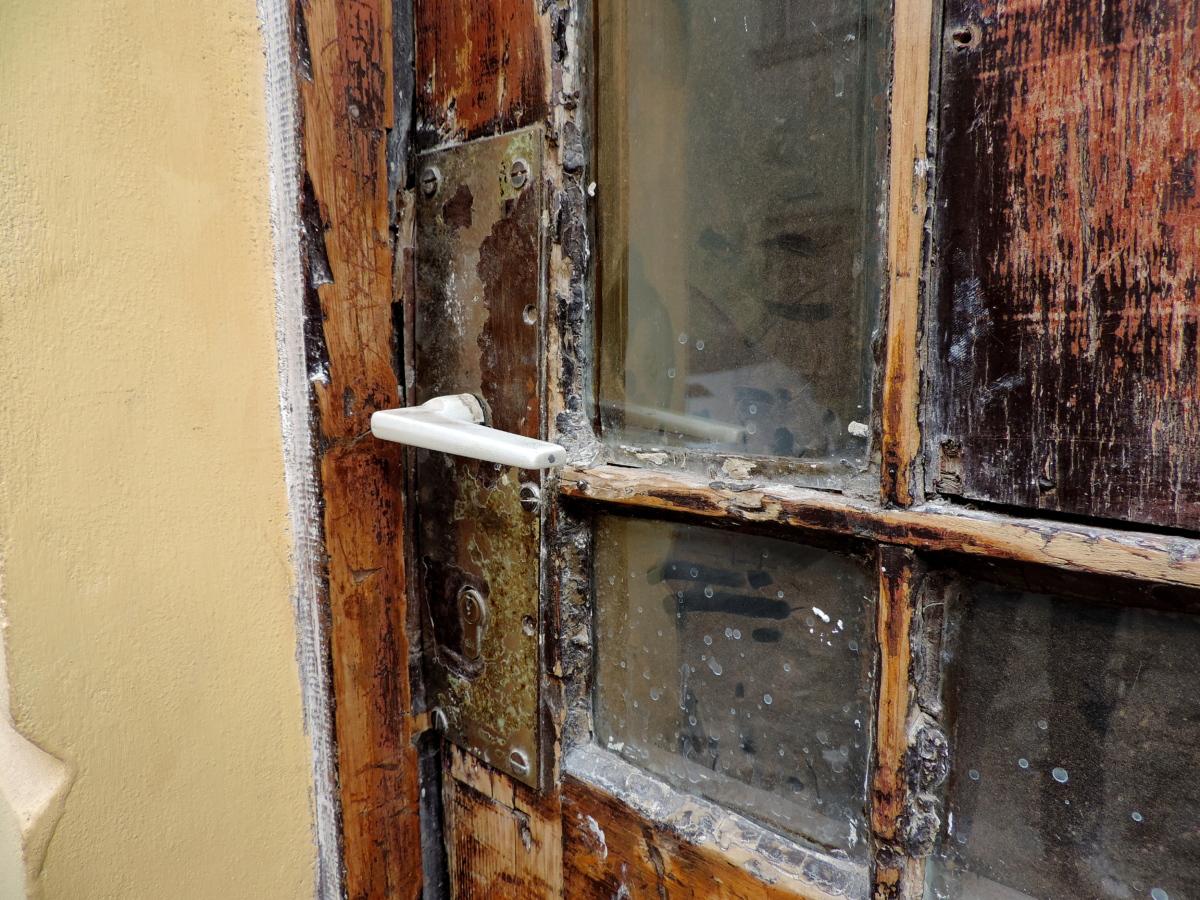 Porta Finestra Ingresso Casa foto gratis: porta d'ingresso, abbandonato, casa, vecchio