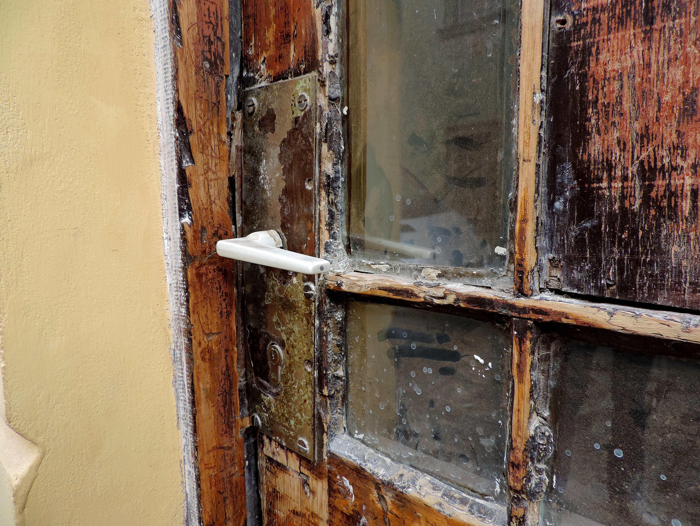 Free picture: front door, abandoned, house, old, door, window ... on