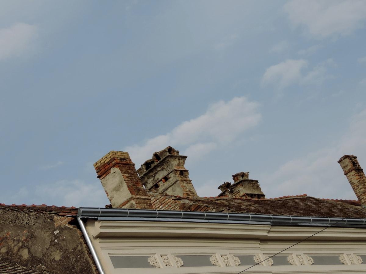 barokový, komín, strešná krytina, Svätyňa, strecha, Architektúra, budova, vonku