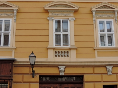 baroque, architecture, building, house, facade, window, home, door