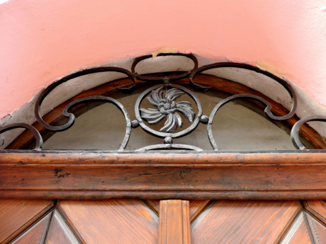 cast iron, front door, wood, wooden, vintage, decoration, old, design