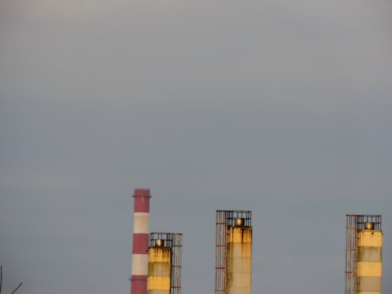 factory, industrial, pollution, tower, chimney, structure, industry, smoke