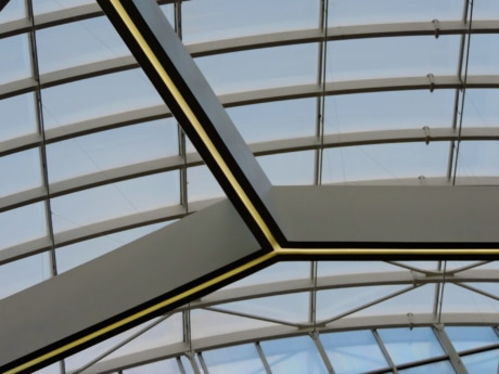 ceiling, futuristic, windows, architecture, building, contemporary, window, modern