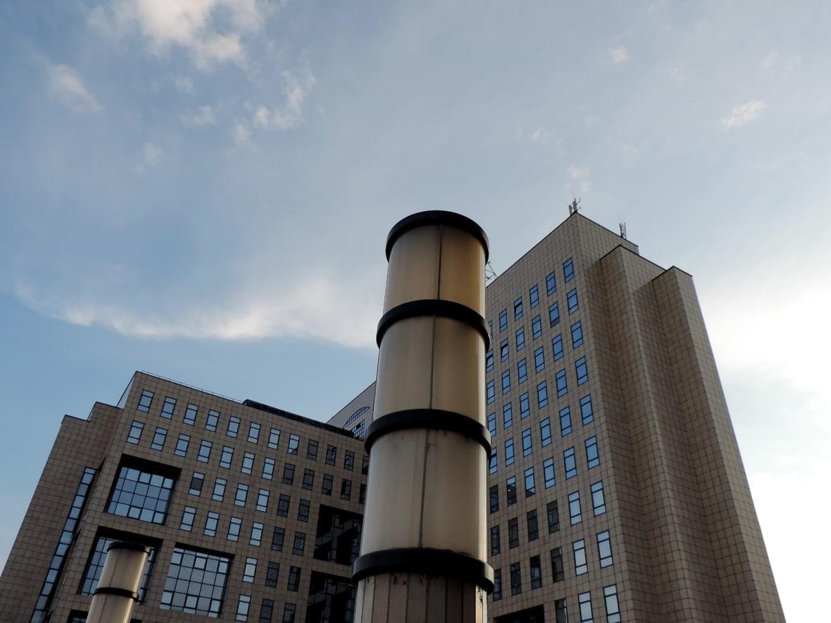 budova, kancelář, mrakodrap, město, věž, architektura, městský, obchodní