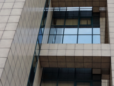 reflection, window, architecture, business, modern, building, office, skyscraper