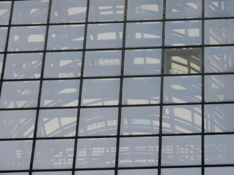 architecture, building, business, modern, window, reflection, technology, office