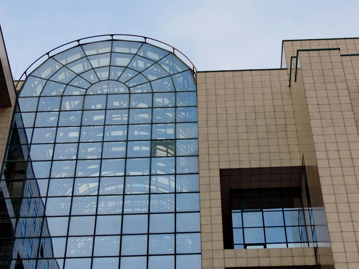 城市, 现代, 构建, 玻璃, 体系结构, 摩天大楼, 窗口, 业务