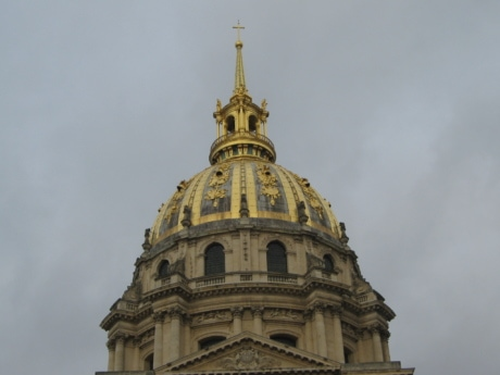 christianity, France, gold, church, architecture, roof, religion, dome