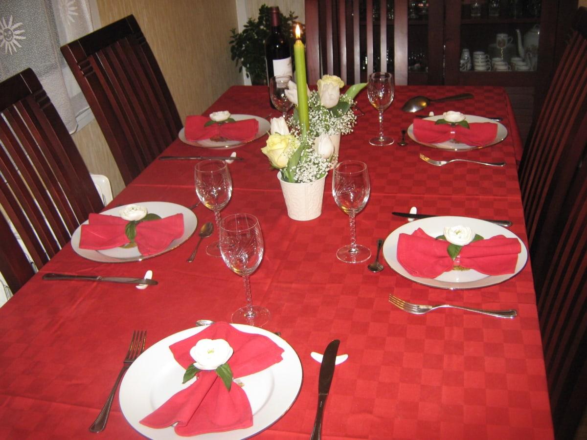 vasellame, tabella, ristorante, Argenteria, cenare, sedia, posate, Tovaglia