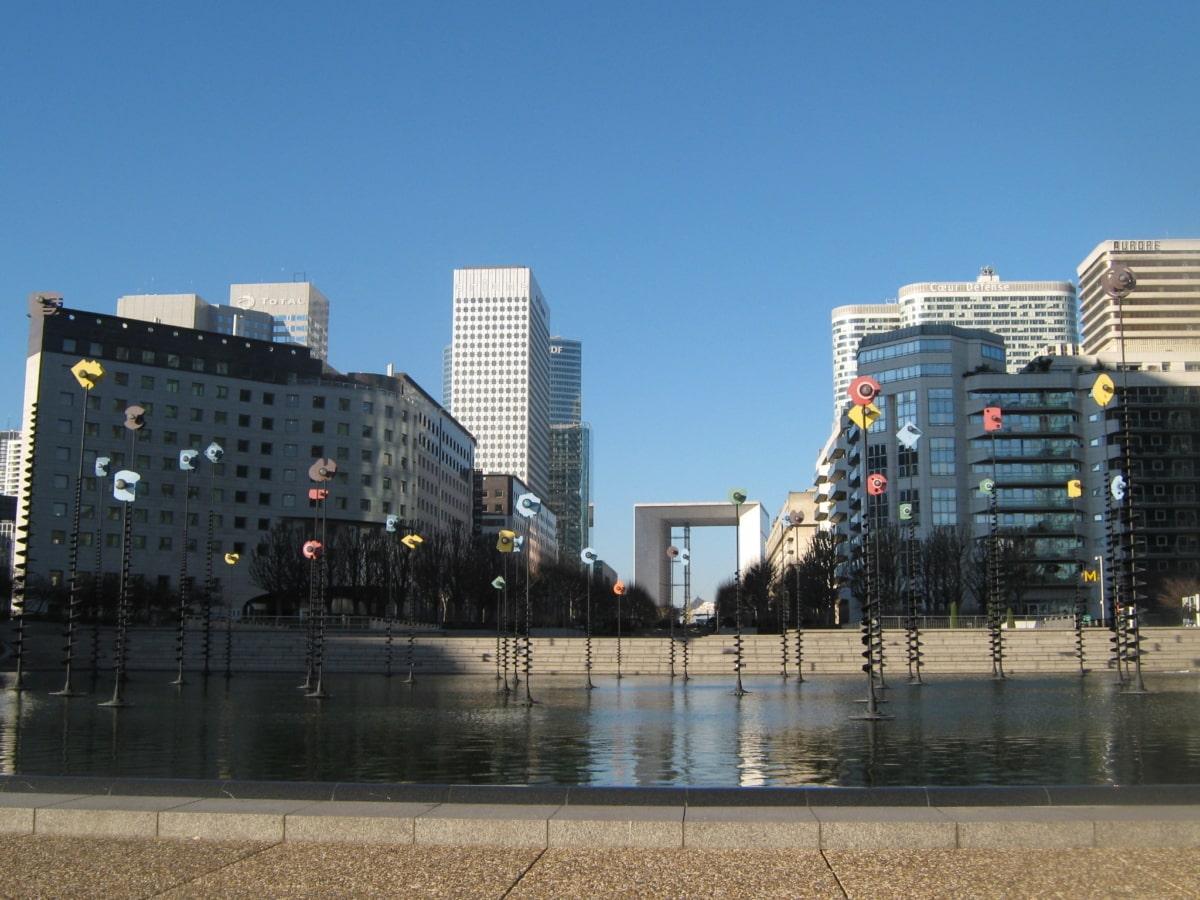 фонтан, Франція, притягнення туриста, Міські, Архітектура, Будівля, хмарочос, міський пейзаж