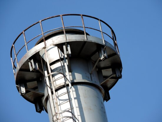 chimney, tower, structure, steel, architecture, technology, equipment, high