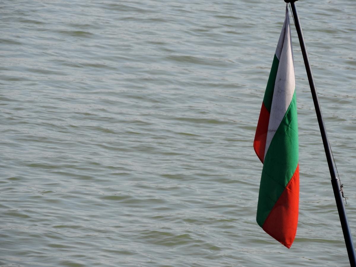 Europeu, Bandeira, patriotismo, nave, tricolor, água, barco, vento