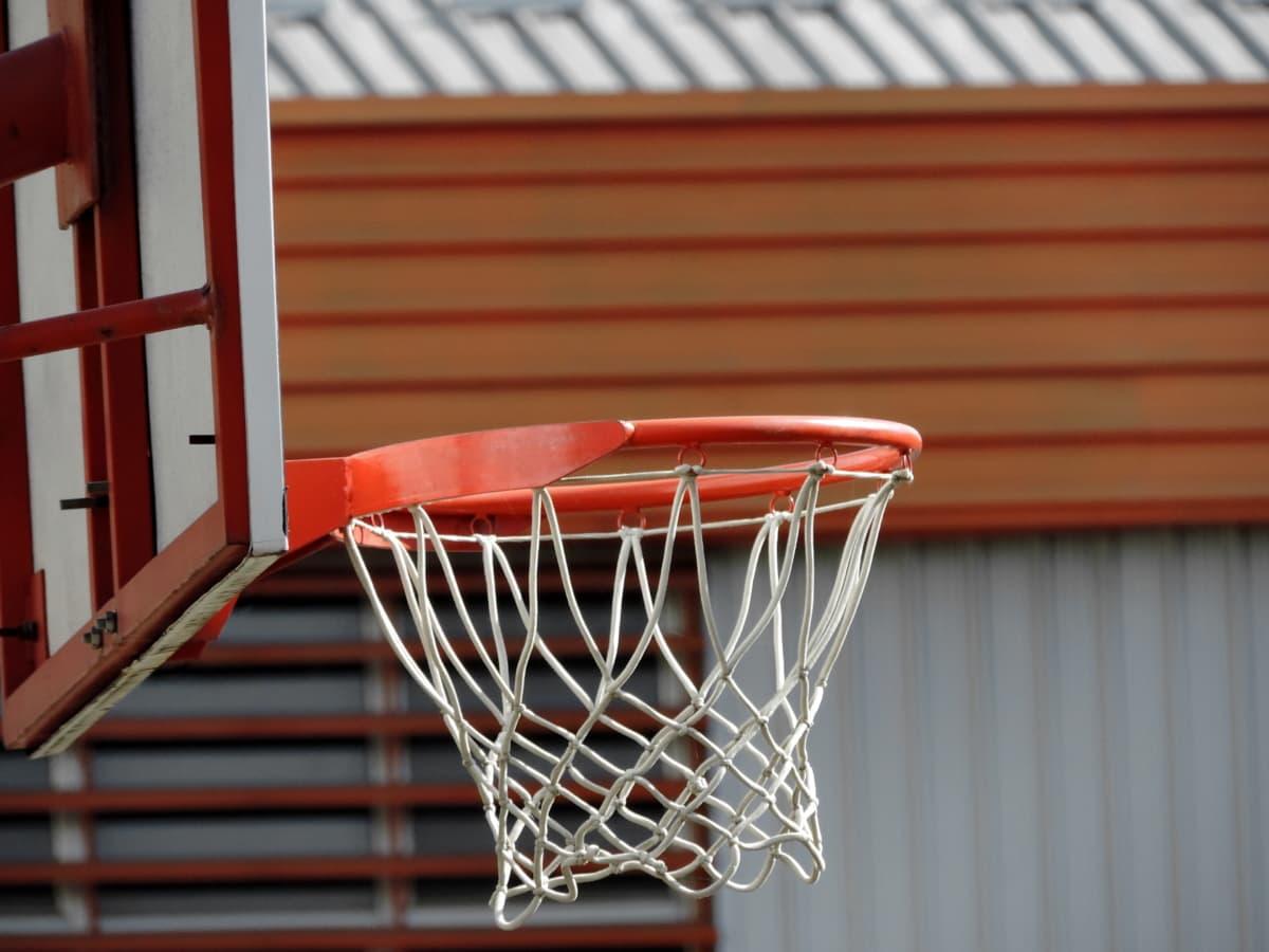 košarkaško igralište, košarka, oprema, web, unutarnji prostor, prazan, slobodno vrijeme, igra