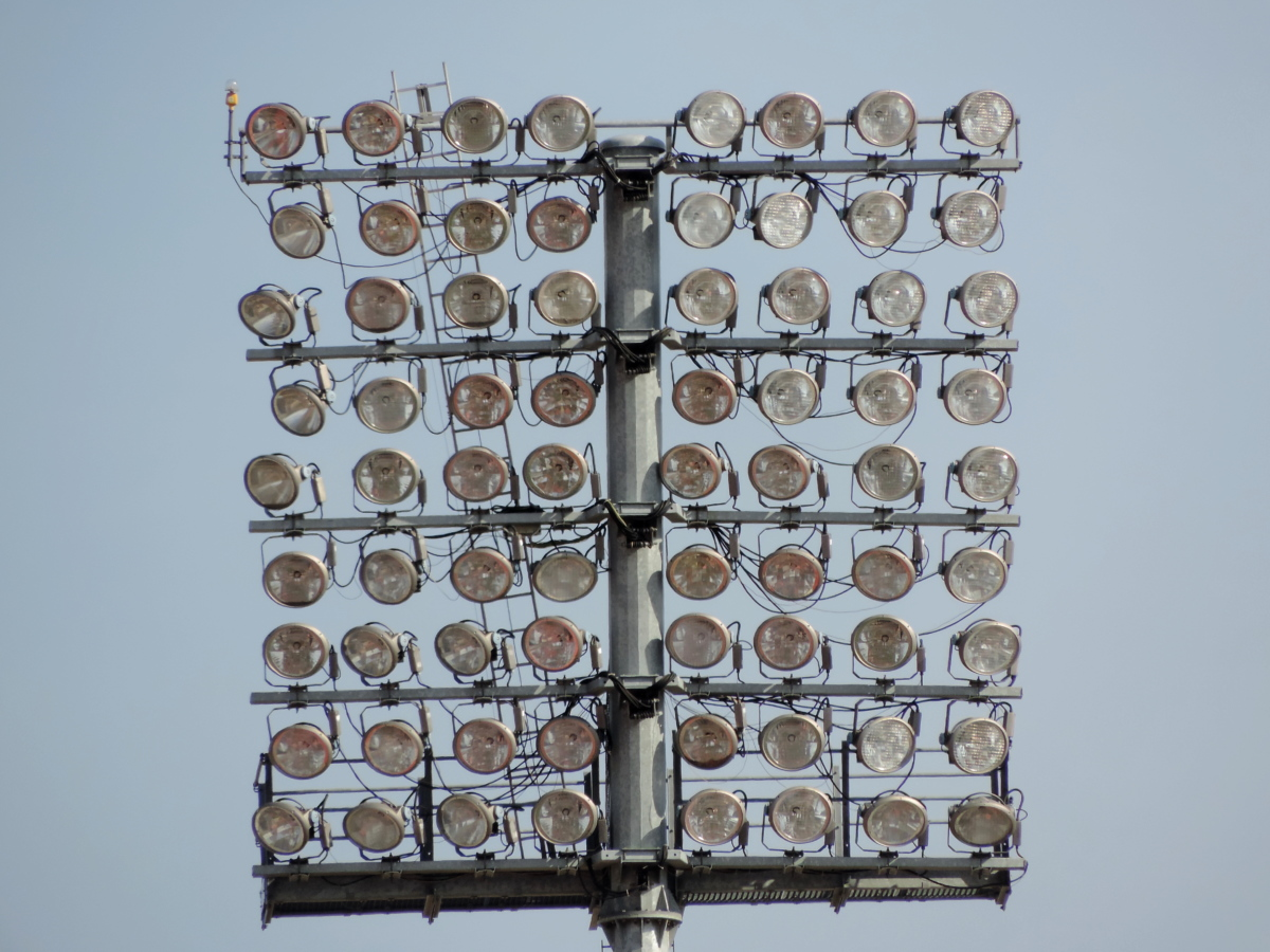 电力, 灯泡, 灯, 金属, 反射, 电线, 设备, 技术