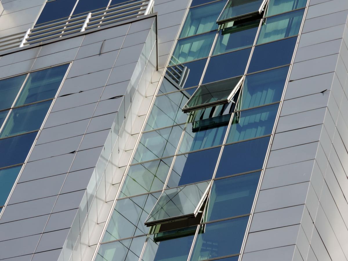 архитектура, Прозорец, офис, съвременен, сграда, бизнес, модерни, отражение