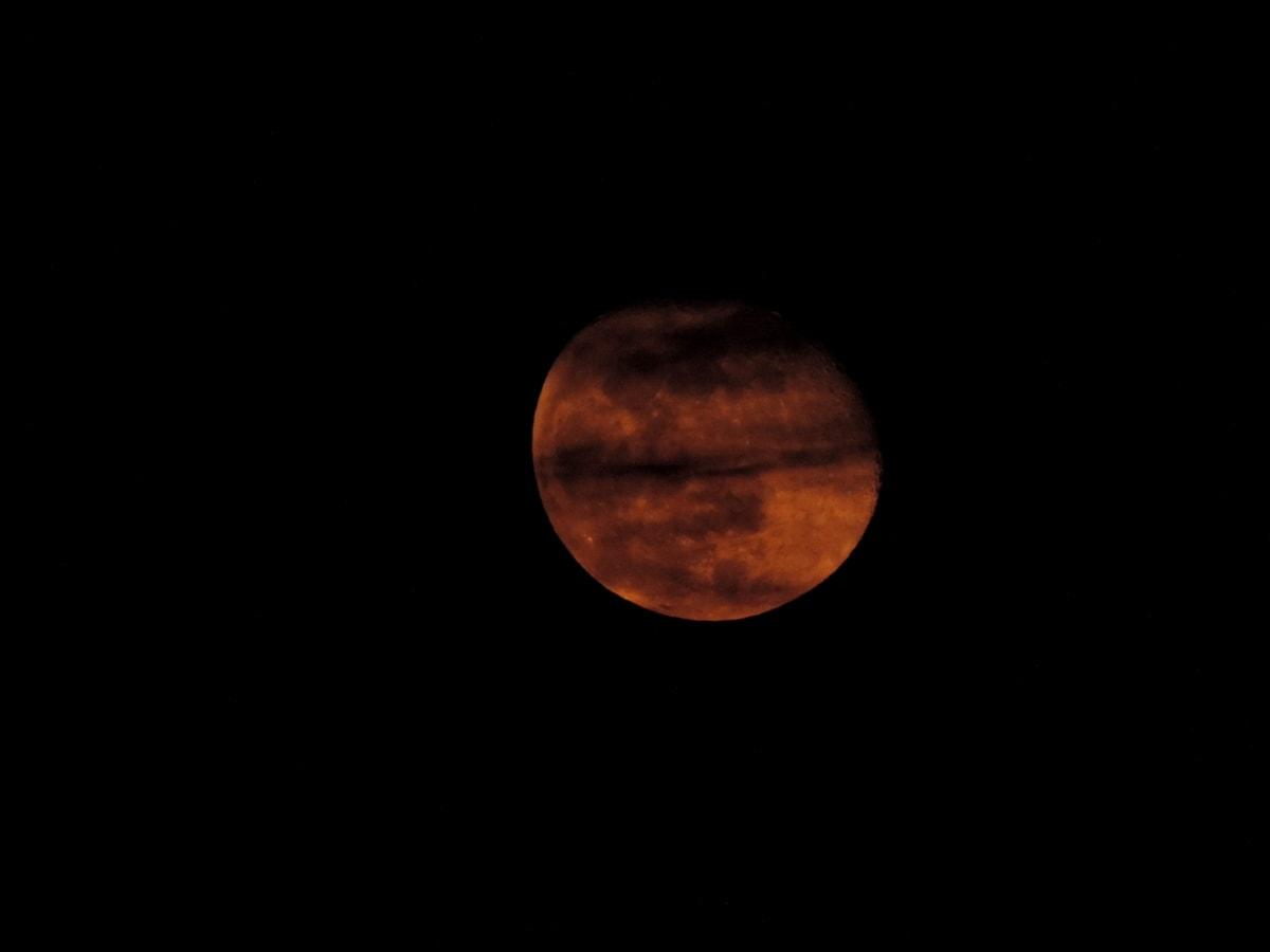 Astrologie, astronomie, planeta, spaţiu, eclipsa, luna, întuneric, luna plina