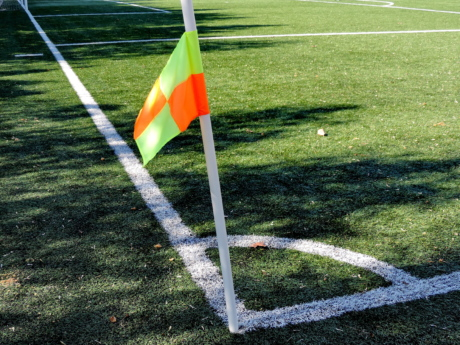 corner, course, grass, flag, game, competition, sport, goal