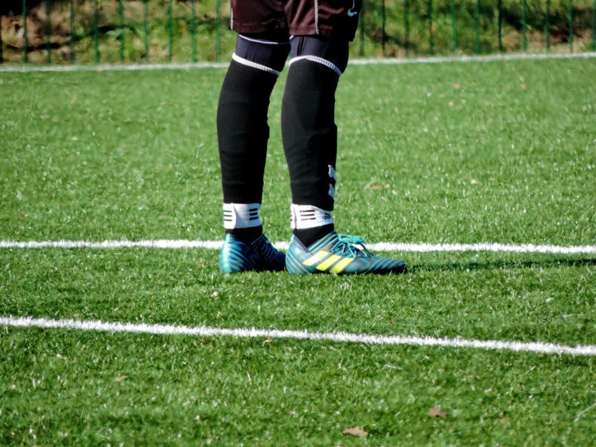 jalkapalloilija, urheilu, pelata, ruoho, Jalkapallo, pallo, kilpailu, Jalkapallo