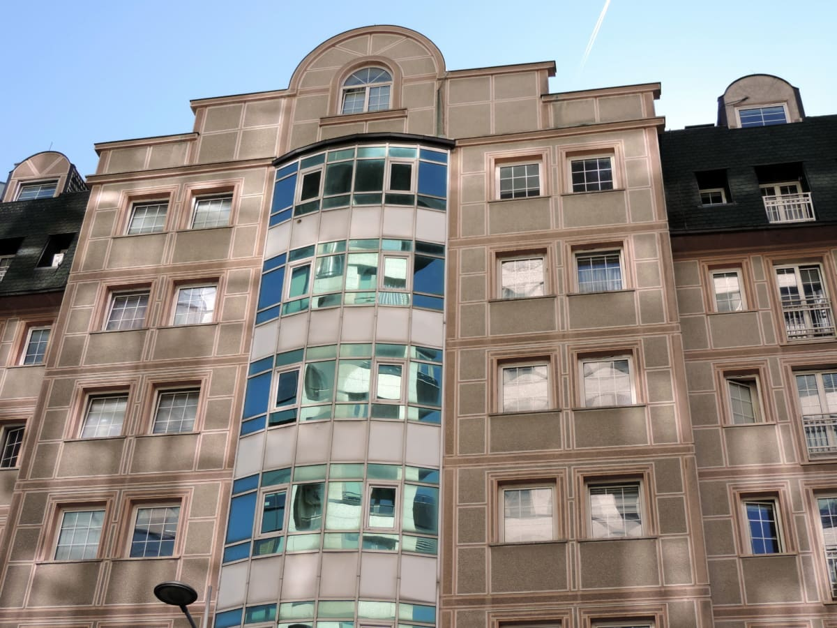 city, window, apartment, building, facade, architecture, office, house