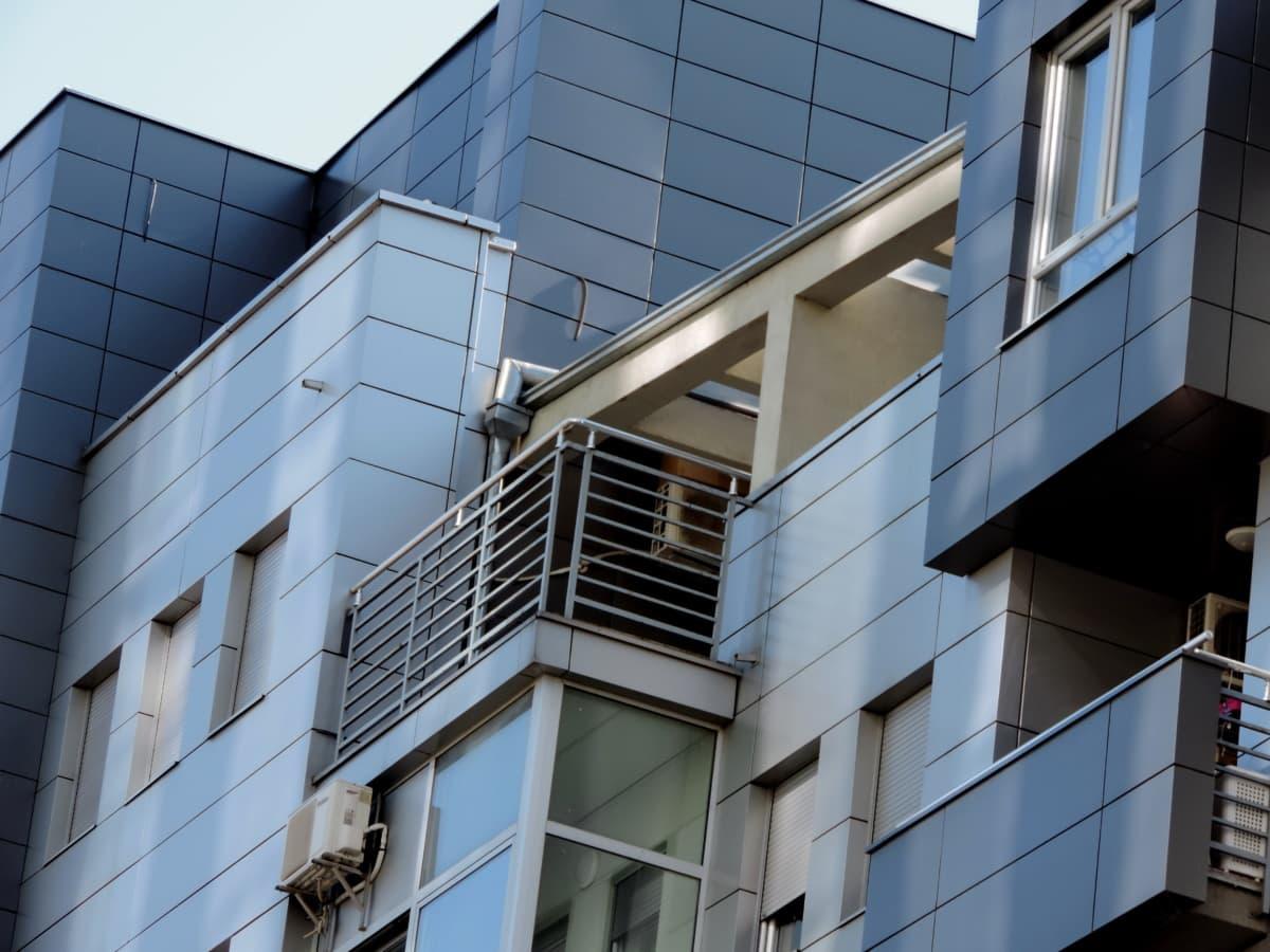 arhitektura, grad, zgrada, moderne, ured, urbano, prozor, posao