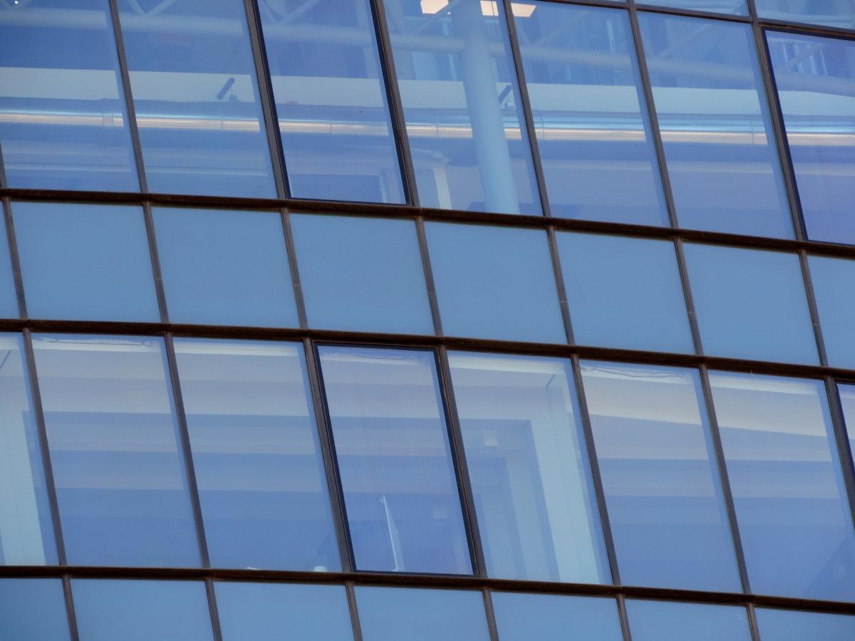 сграда, бизнес град, футуристичен, градска зона, прозорец, небостъргач, архитектура, отражение