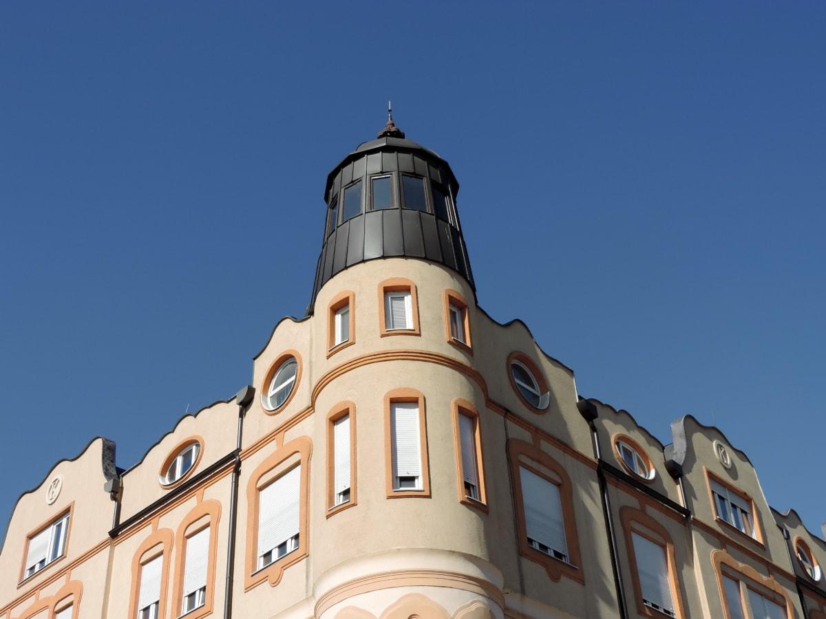 pamiatka, budova, Architektúra, veža, vonku, staré, mesto, dom