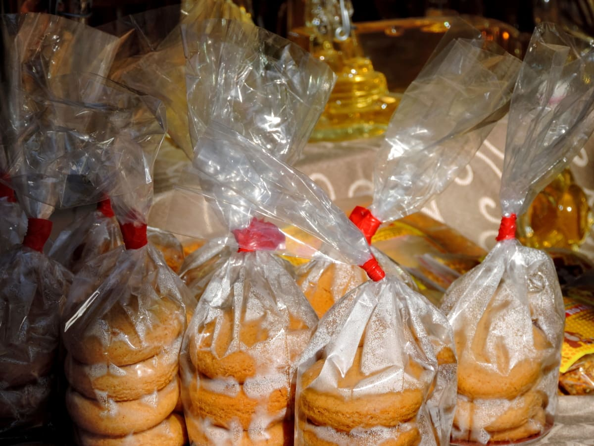 kjeks, gave, sukker, godteri, godterier, dekorasjon, feiring, søt