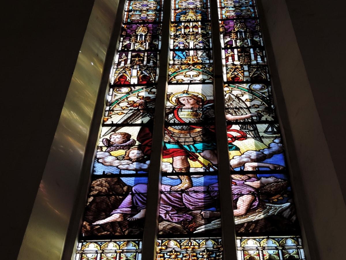 Άγγελος, Χριστός, Χριστιανισμός, χρωματισμένο γυαλί, θρησκευτικές, Εκκλησία, θρησκεία, Καθεδρικός Ναός