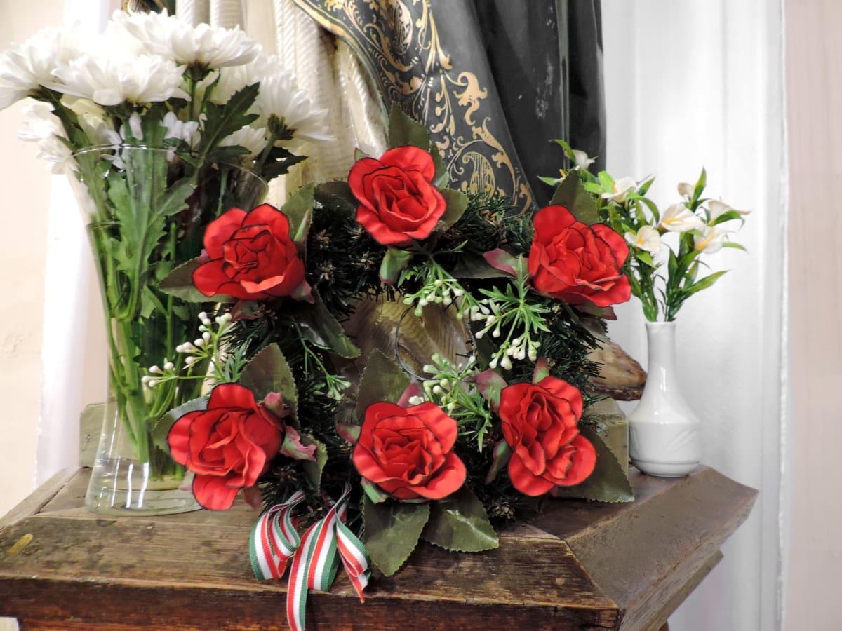λουλούδι, μπουκέτο, βάζο, διακόσμηση, ρύθμιση, λουλούδια, τριαντάφυλλο, Γάμος