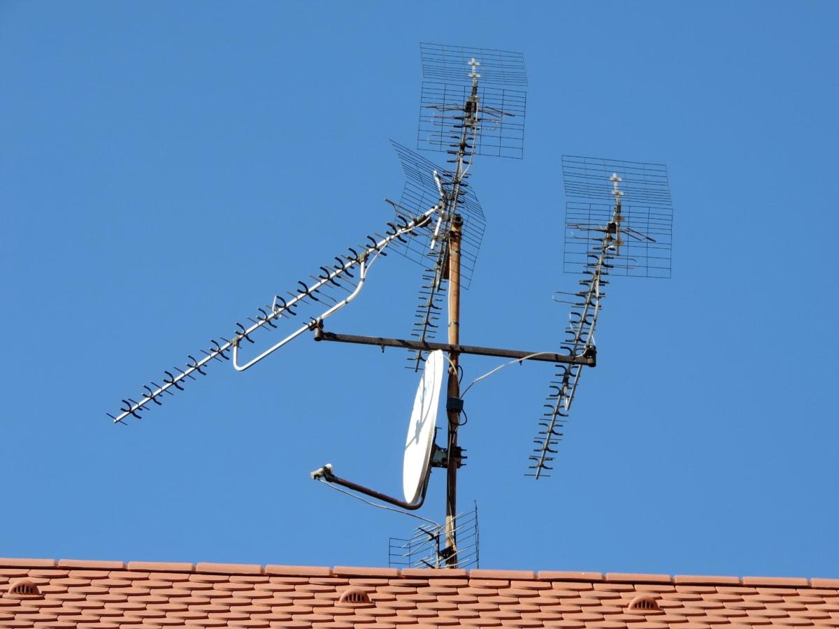 Bezdrôtové, anténa, Technológia, Stavebníctvo, priemysel, prijímač, Satelitná, výkon